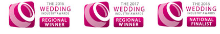 The 2016 Wedding Industry Awards - Regional Winner